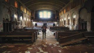 Forgotten Abandoned Church in Detroit left in Ruins | Urban Blight