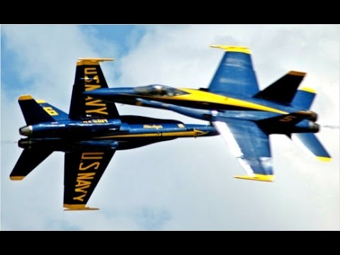 MOST DANGEROUS STUNTS !!! US Navy Blue Angels F-18 Aircraft flying in Airshow