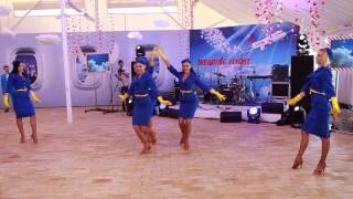 A6 Ballet Wedding Flight Stewardess