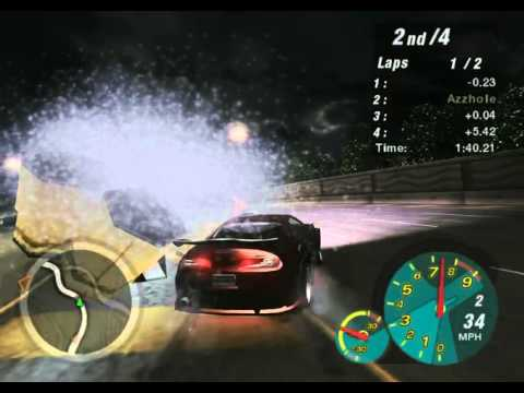 Need For Speed Underground 2 Tha fack wrong with gravity lol