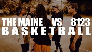 The Maine VS 8123 basketball game