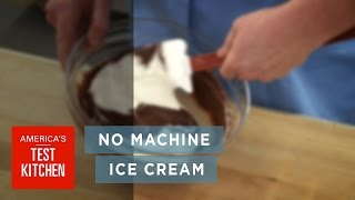 90-Second Chef: How to Make Homemade Chocolate Ice Cream Without a Machine