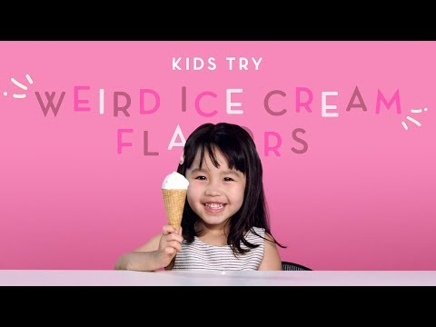 Kids Try Weird Ice Cream Flavors Kids Try HiHo Kids