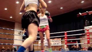 Lucia Krajčovič vs. Anna Sikora- profi december 2011 Kalisz 2.nd round