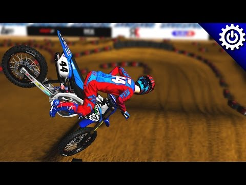 MX Simulator - Pro SX Prep Race From Kellen's Perspective