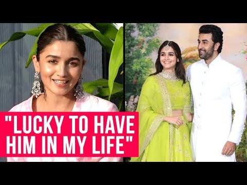 Alia Bhatt Breaks Silence On DATING Ranbir Kapoor   Alia Ranbir At Sonam Anand Reception