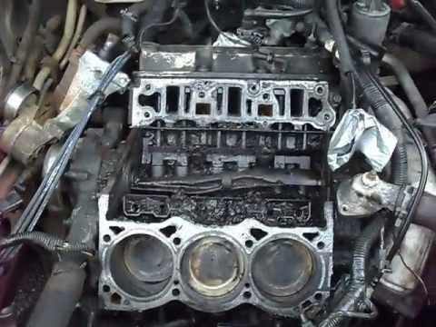 BUICK V6 LOWER INTAKE MANIFOLD AND HEAD GASKET REMOVAL.