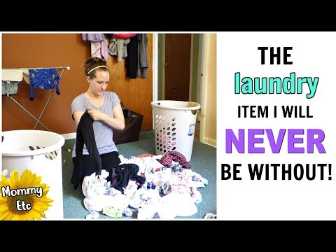 LAUNDRY ROUTINE! Stay At Home Mom / Family of Four | Mommy Etc