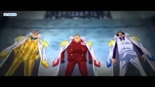 One Piece Luffy vs 3 Admirals AMV