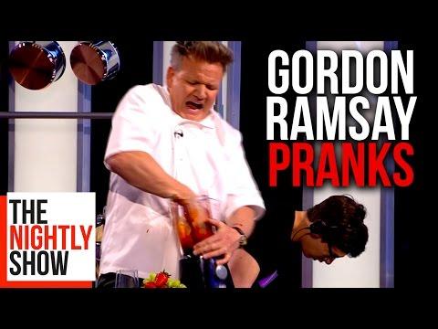 All of Gordon Ramsay's Best Pranks | COMPILATION