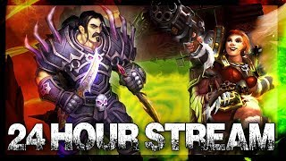 Outland TBC!! 24 Hour Stream! World of Warcraft !sr