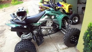 2012 Suzuki LT-Z400 Limited Edition | First ride | Atv sport quad | Road street ltz 400 z400 GoPro