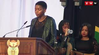 Dr Skweyiya's grandchildren give touching tribute at special memorial