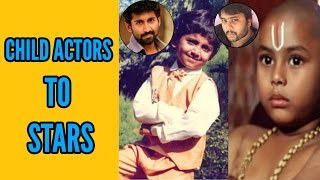 Popular Tollywood Child Actors Then and Now