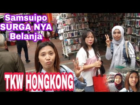 SAMSUIPO SURGA NYA BELANJA TKW HONGKONG 😊