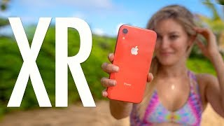 iPhone XR Coral Unboxing and Review!