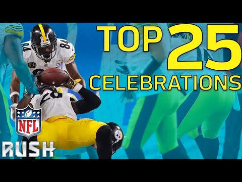 Top 25 Celebrations of the 2017 Season NFL Highlights