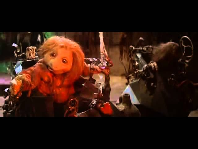 Dark Crystal, draining the essence from a podling