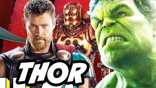Thor Ragnarok Planet Hulk Celestials Easter Egg Explained and Trailer Update
