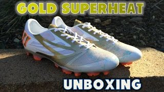 Warrior Superheat S-Lite - Gold Edition Unboxing