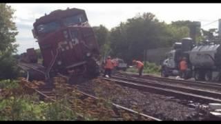 Train Derails In Toronto, Leaking Diesel In Canada's Capital