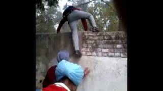 See 😲 what punjabi boys do to bunk school