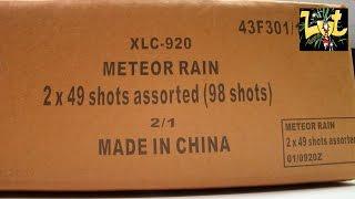 98 shots Meteor Rain Doorlont Waaier cake Salon Roger