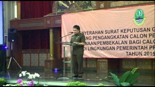 Pemprov Jawa Barat Angkat 362 Honorer Jadi CPNS