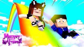 TEMOS UM ARCO-ÍRIS! - Minecraft Fantasia #41
