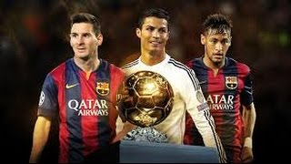 Messi + Neymar + Ronaldo