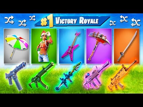 Xxx Mp4 The RANDOM EVERYTHING Challenge In Fortnite Battle Royale 3gp Sex