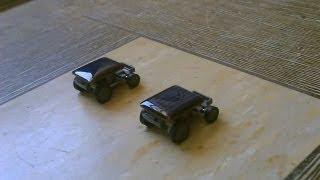 Solar Powered Cars - solar powered racing (toy cars) 100% solar powered