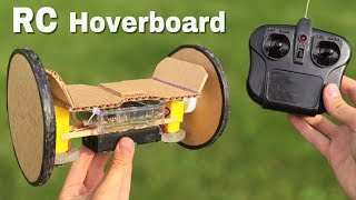 How to Make HOVERBOARD at Home Out of Cardboard - incredible idea