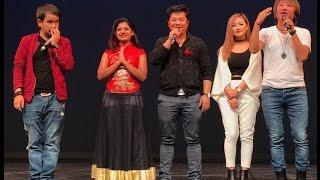 Darshan Namaste तक्मे , दयाहाङ र राजेश पायलको नाच Hongkong