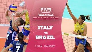 Italy v Brazil Gold Medal Match highlights - FIVB World Grand Prix