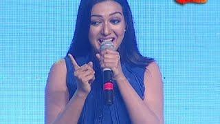 Catherine Tresa Super Dialogue in Telangana slang at Sarinodu Success Meet - CineUdayam