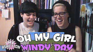 OH MY GIRL (오마이걸) - WINDY DAY ★ MV REACTION