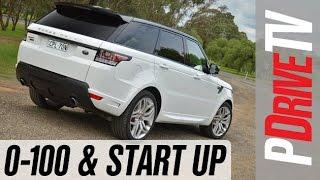 2014 Range Rover Sport V8 0-100km/h and engine sound