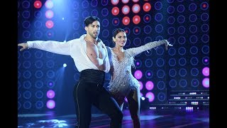Silvina Luna y Leandro Nimo bailaron un Cha cha pop con final fallido