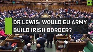 Dr Julian Lewis: Would EU army build Irish border?