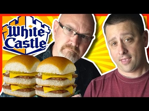 White Castle Double Cheese Sliders with Chuck From The Bronx