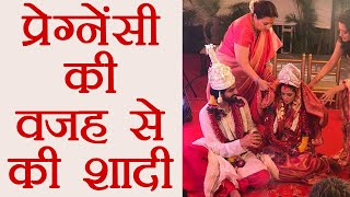 Riya Sen PREGNANCY behind MARRIAGE with Shivam Tiwari, REVEALED ! | FilmiBeat