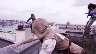 Assassin's Creed Unity Meets Parkour in Real Life   4K!