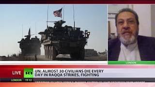 UN: Average of 27 civilians killed every day in crossfire of Raqqa battle