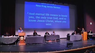 Religious debate in the US on Christ's deity attracts crowd