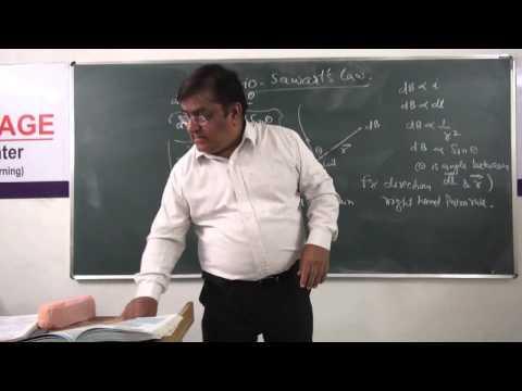 XII-3.4.Bio Savart's Law, (2014)Pradeep Kshetrapal Physics.mp4
