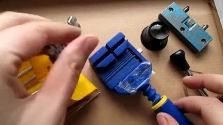 How to Use some Basic Watch Tools