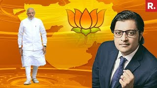 6 Straight Terms For BJP In Gujarat | The Debate With Arnab Goswami
