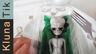 KLUNA Eating a LIVING ALIEN!!    Kluna Tik Dinner #24 | ASMR eating sounds no talk