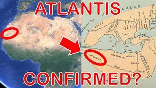 Ancient Map PROVES The Lost City of Atlantis is The Eye of The Sahara – Ancient Civilization